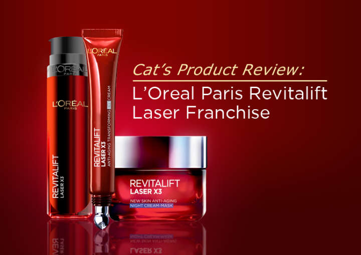 L'Oreal Paris Revitalift Laser Franchise
