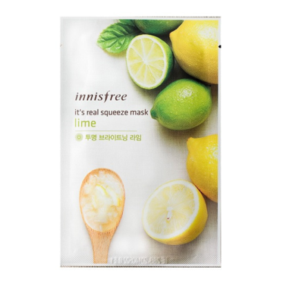 Innisfree Its Real Squeeze Mask Lime