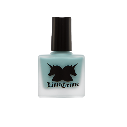 Lime Crime Nail Polish - Once In A Blue Mousse