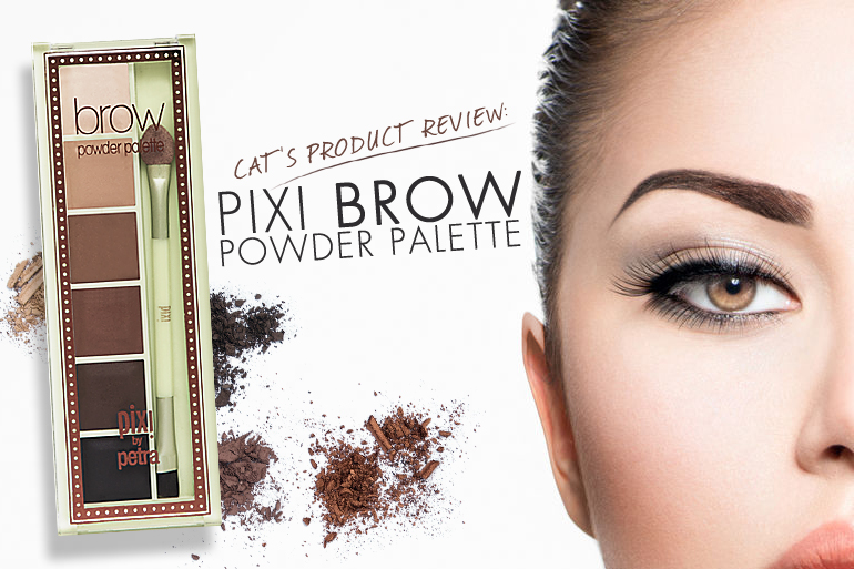 Product Review Pixi Brow Powder Palette Calyxta
