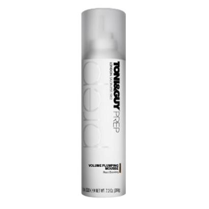 Toni&Guy Hair Styling Prep Volume Plumping Mousse 204G