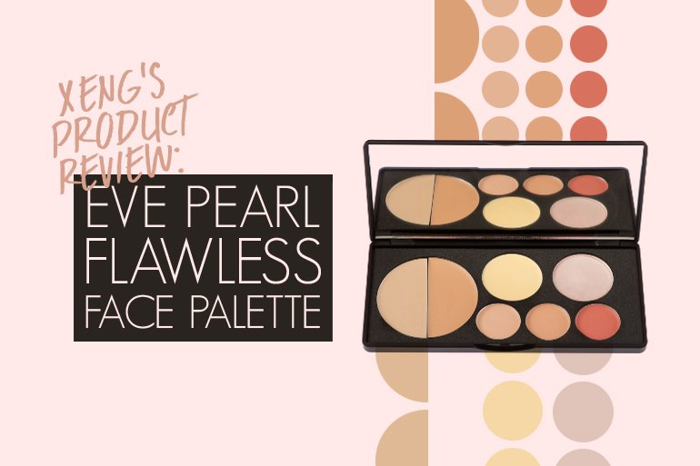 Review Eve Pearl Flawless Face Palette