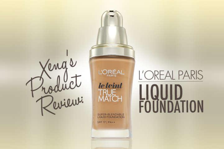 L'Oreal Paris Liquid Foundation