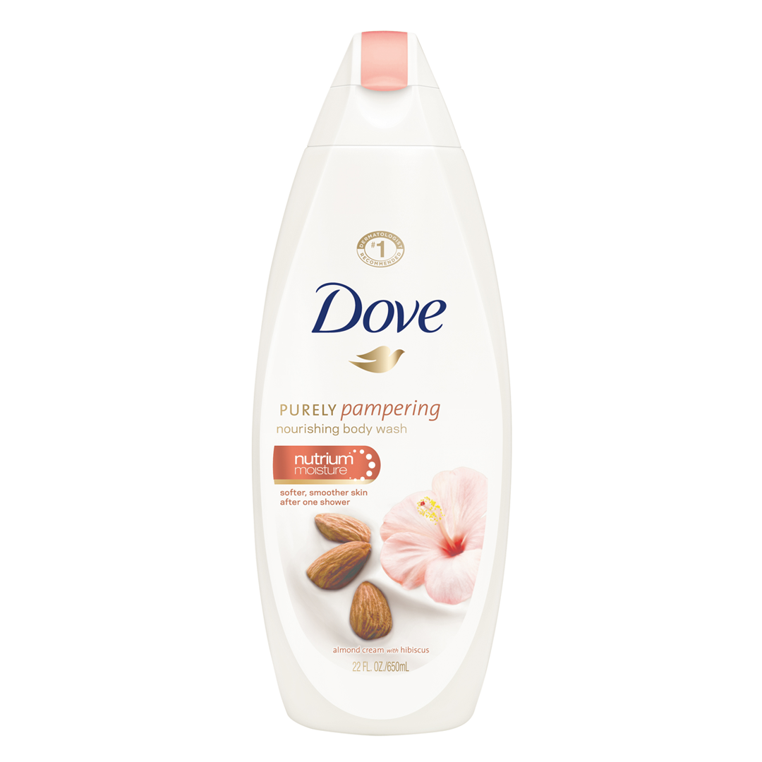 Buy Dove Purely Pampering Body Wash Almond Cream 22oz - Philippines - Calyxta