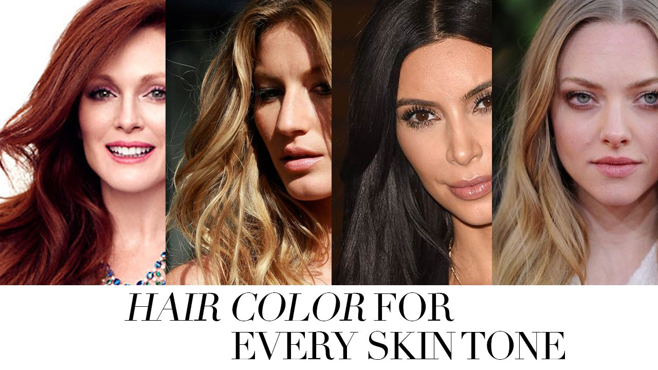 Skin Tone Hair Color Best Hair Color 2018