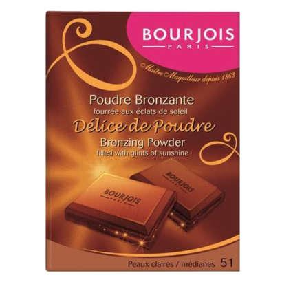 Bourjois Delice De Poudre - 51 Peaux Claires/Medianes