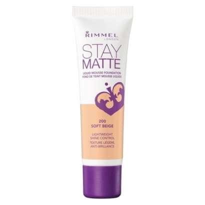 Rimmel Stay Matte Liquid Mousse Foundation - Soft Beige