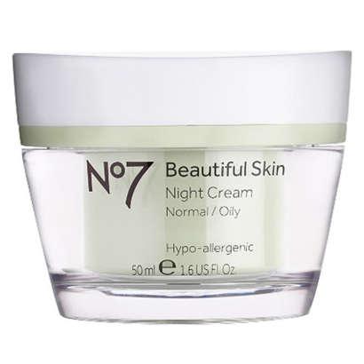 No. 7 Beautiful Skin Night Cream - Normal/Oily