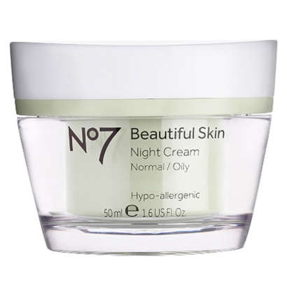 No. 7 Beautiful Skin Night Cream - Normal/Oily