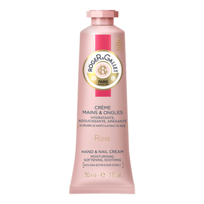 Roger & Gallet Hand and Nail Cream - Rose 30ml