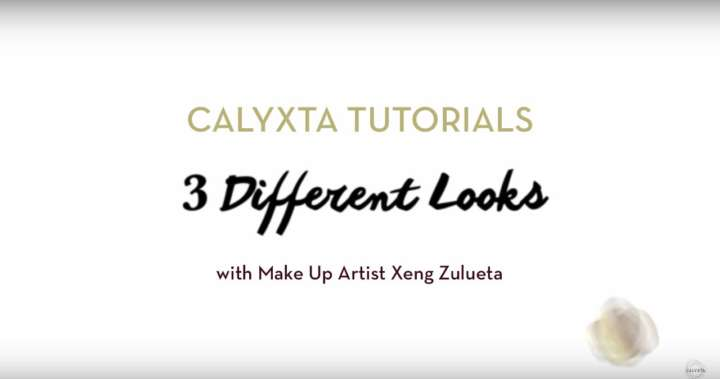 Calyxta Tutorial: 3 Different Looks