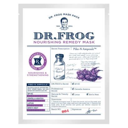Charmzone Dr.Frog Nourishing Remedy Mask 20g