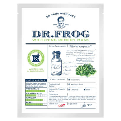 Charmzone Dr.Frog Whitening Remedy Mask 20g