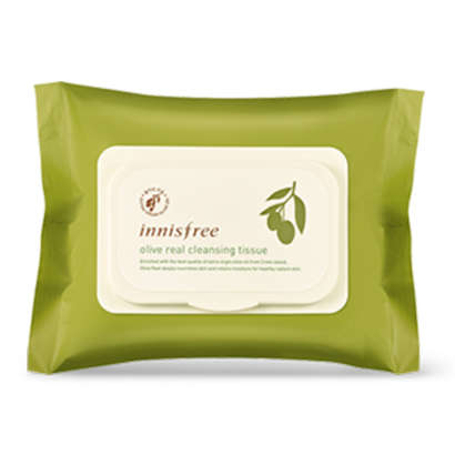 Innisfree Olive Real Cleansing Tissue