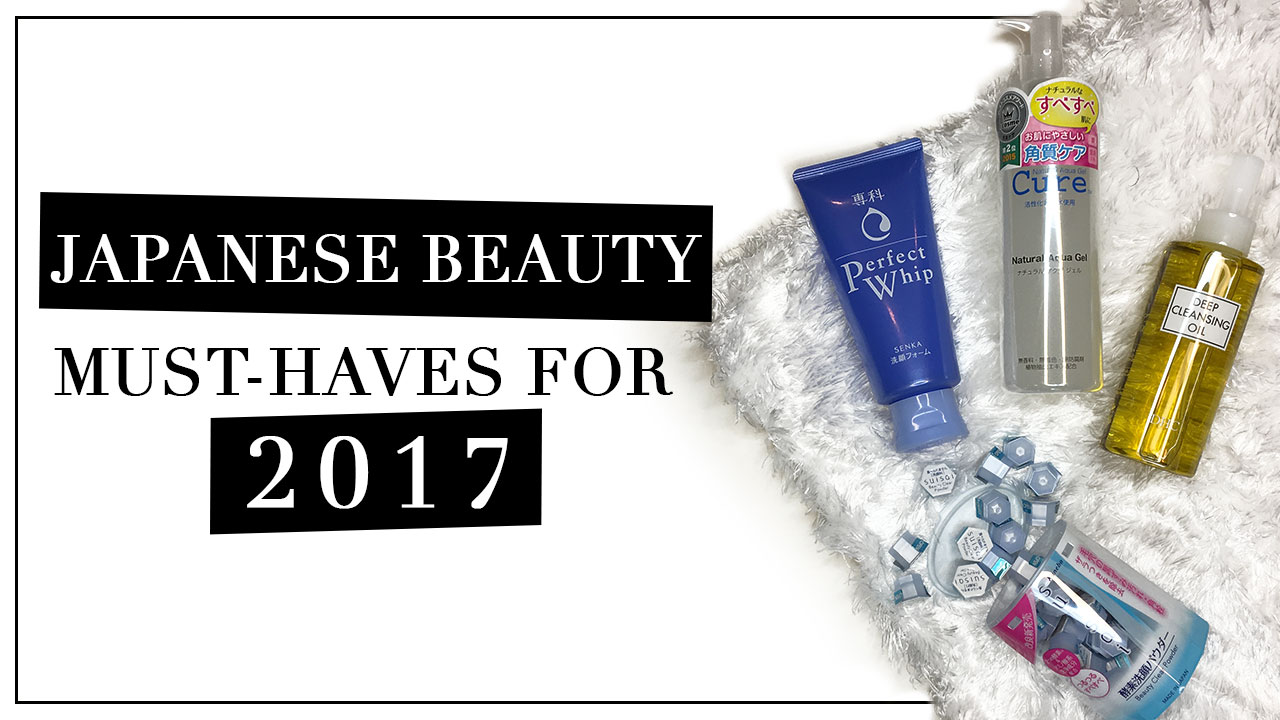 The Japanese Beauty Items You Need To Stock Up This 2017
