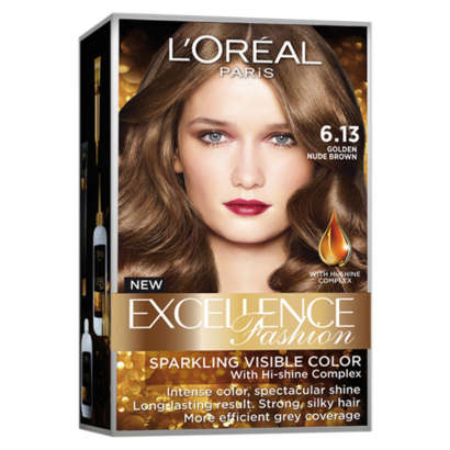 L'Oreal Paris Ash Brown Obsession Collection - 6.13 Golden Nude Brown