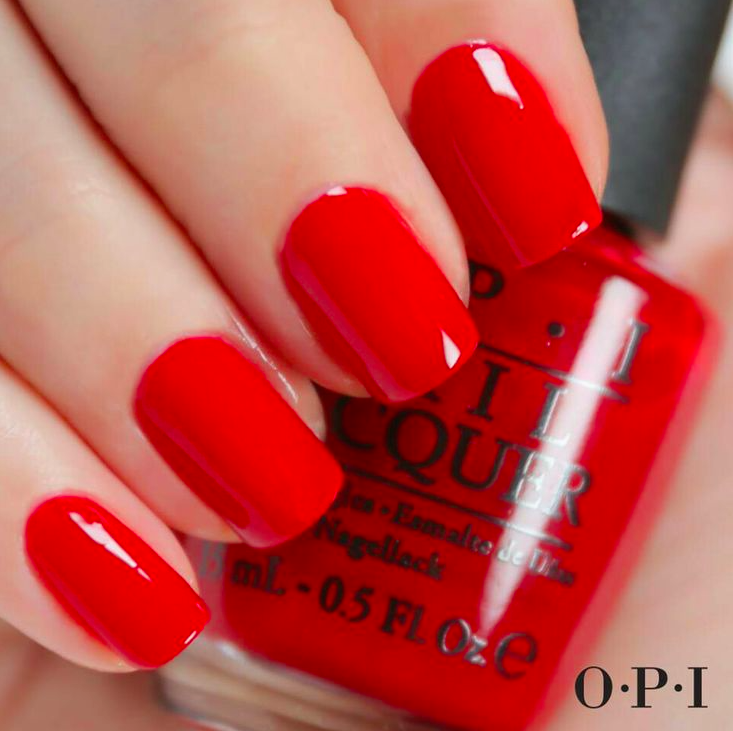 how to wear red nail polish