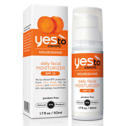 Yes To Carrots Daily Facial Moisturizer with SPF 15 50ml