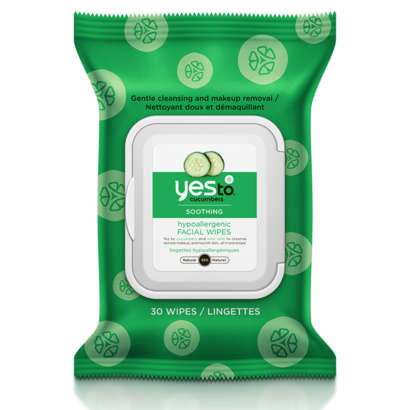 Yes To Cucumbers Facial Wipes 30CT