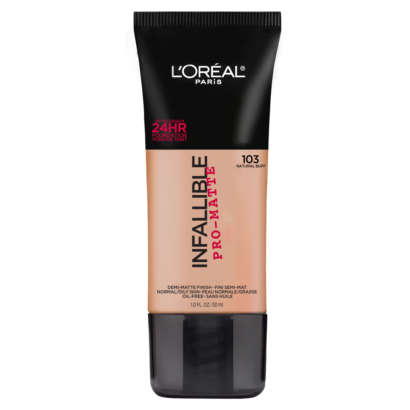 L'Oreal Paris Infallible Pro-Matte Foundation - 103 Natural Buff