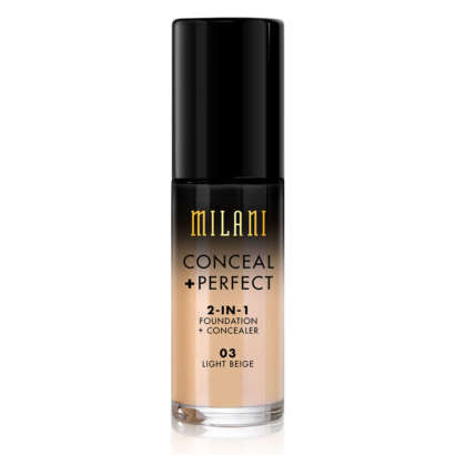 Milani Conceal + Perfect 2-in-1 Foundation + Concealer - 03 Light Beige