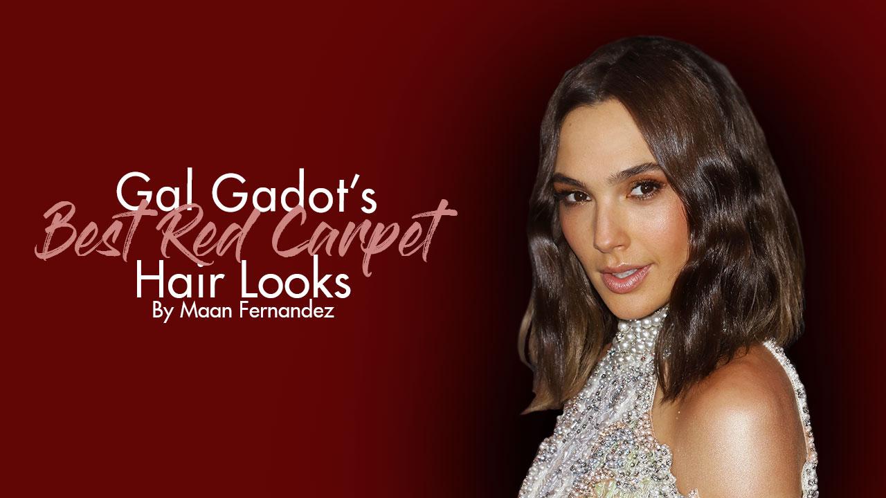 Wonder Woman Locks Gal Gadot S Best Red Carpet Hairstyles