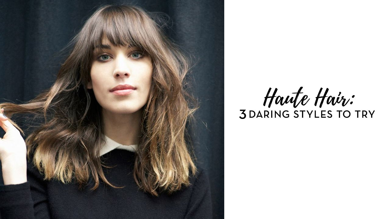 Haute hair 3 daring hairstyles to try calyxta for Haute hairie