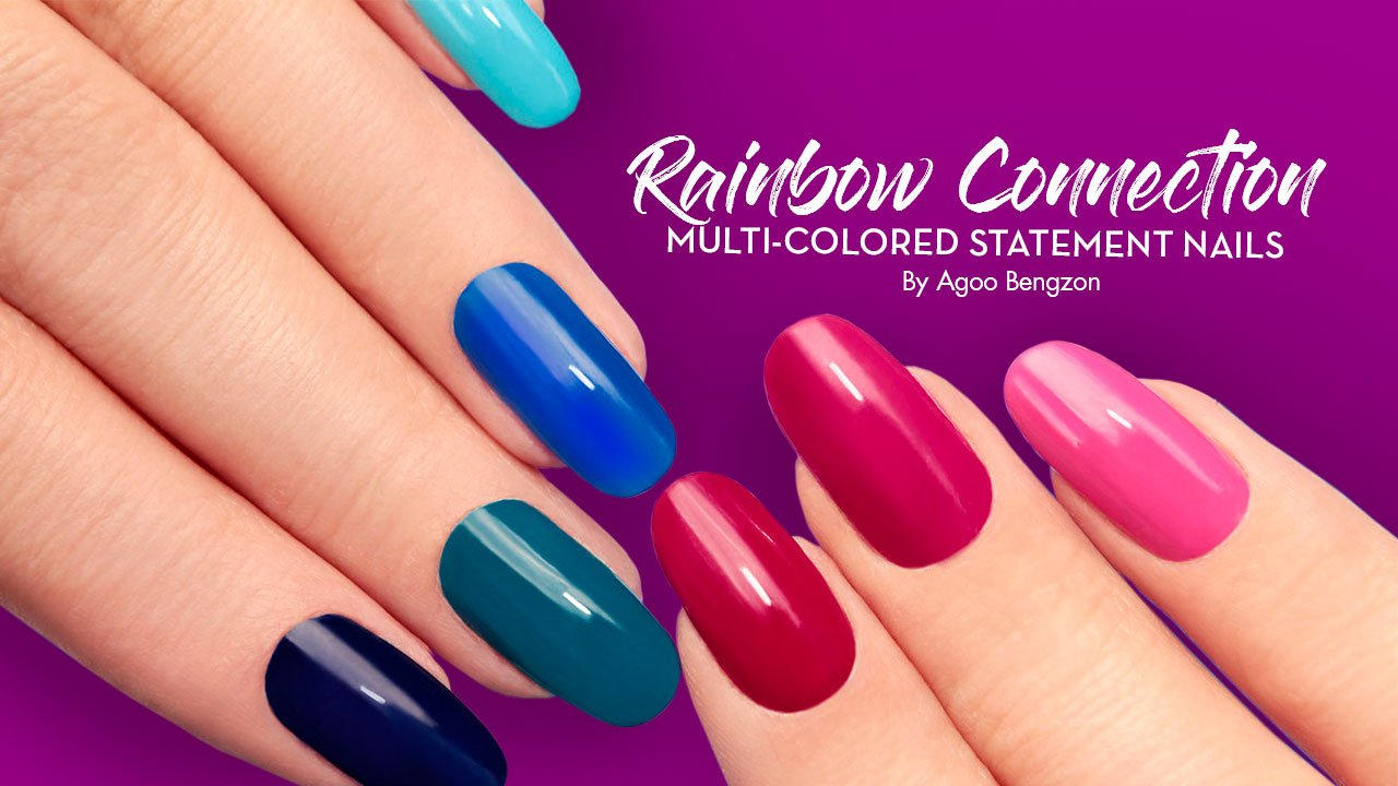 Rainbow Connection: Make a Statement with Multi-Colored Nails - Calyxta