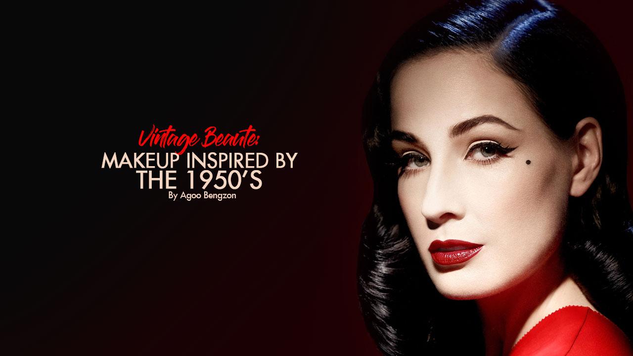 Vintage Beauté: Makeup Inspired by the 1950s - Calyxta  Vintage Beauté...