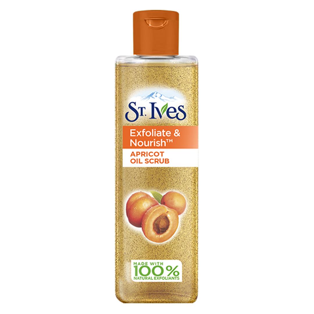 Exfoliate & Nourish Facial Oil Scrub Apricot by st ives #9