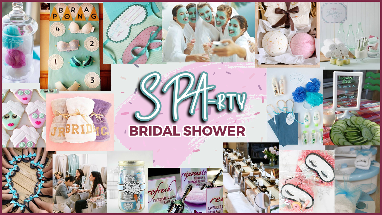 no doubt a classic bridal shower idea putting together a spa party or a sparty for a bride who loves getting her pampering sessions on is definitely