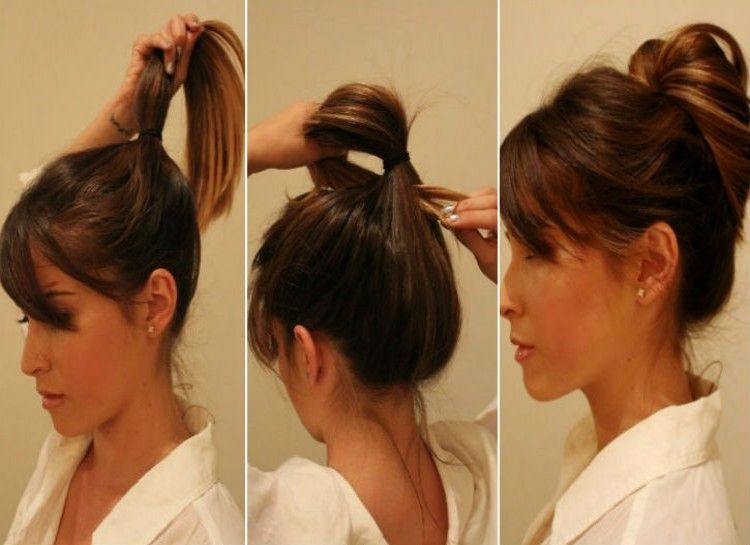 Miss Messy Messy Buns For Different Hair Lengths Calyxta