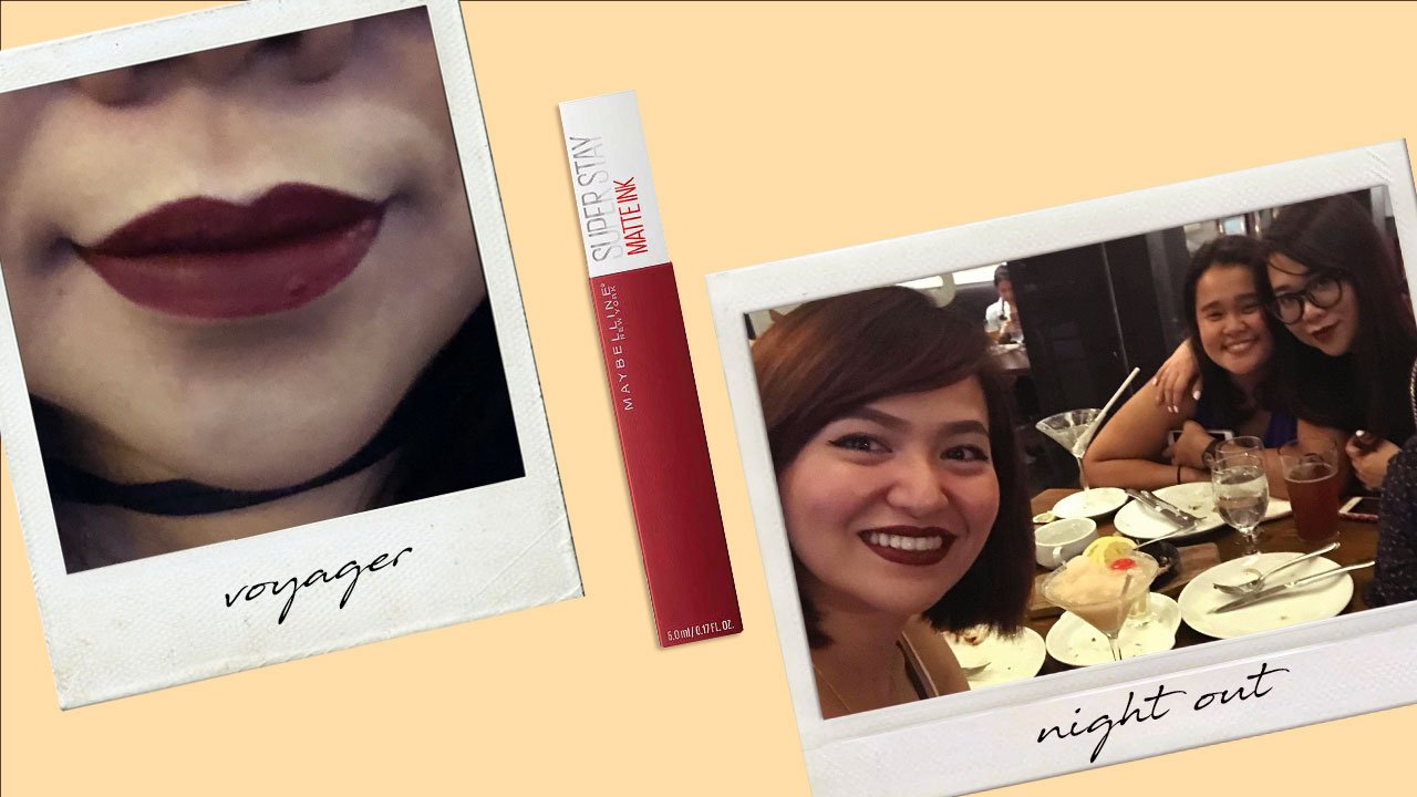 Calyxtas Maybelline Superstay Matte Ink Review