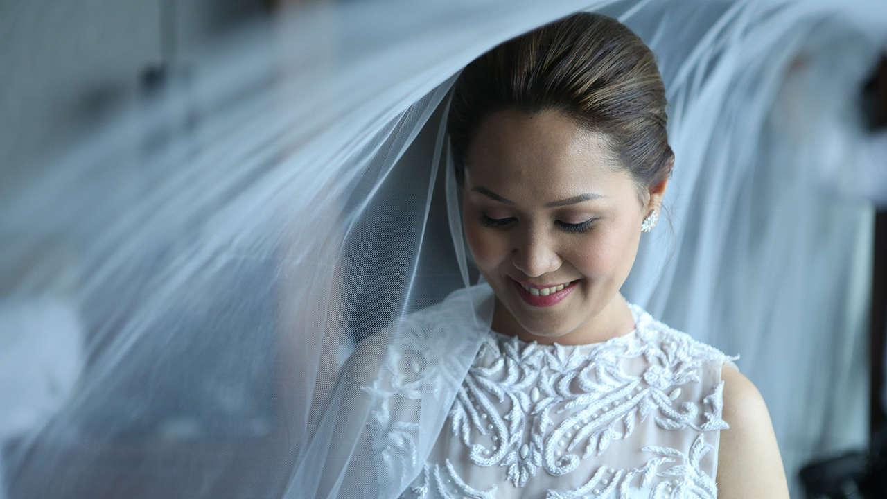 Real Bride: Jacqui Marcelo-Ricasata