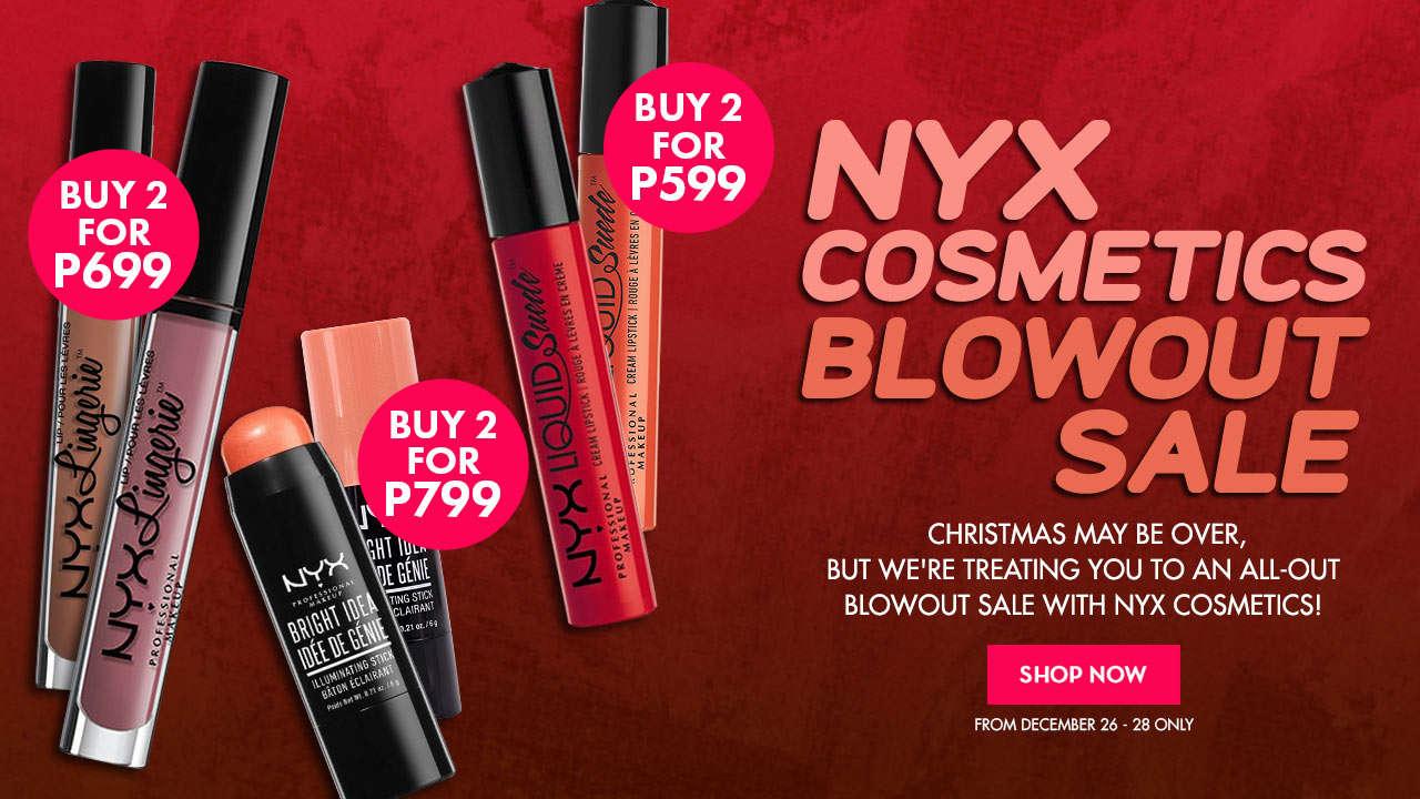 NYX Cosmetics Sale