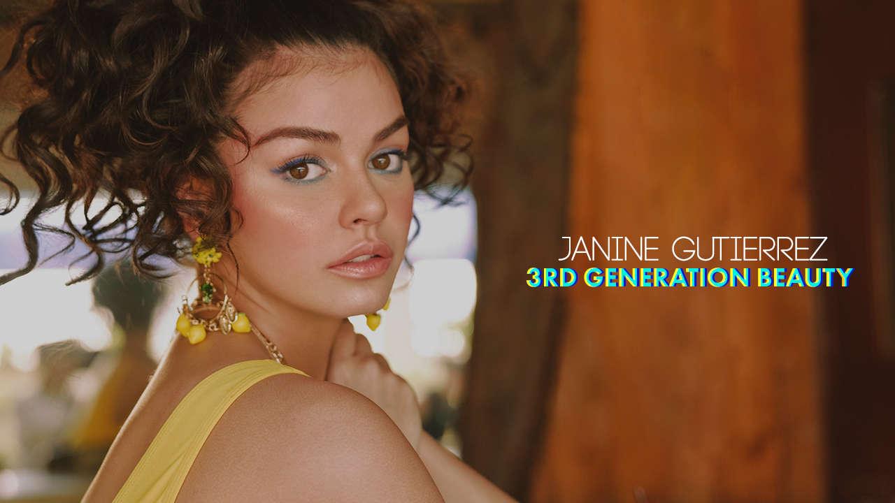 Janine Gutierrez: 3rd Generation Beauty