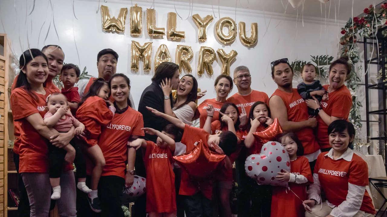 Engagement Stories: Marc Enriquez and Allysiu Alvarez