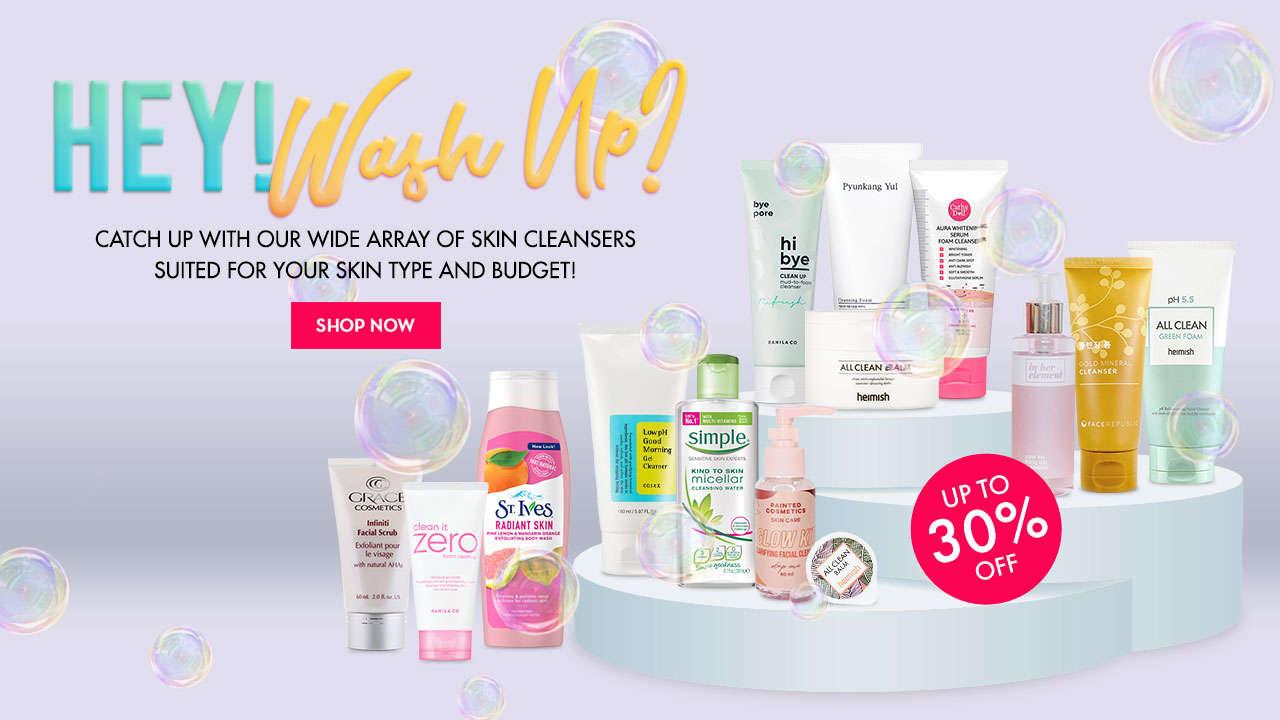 Skin Cleanser Promo