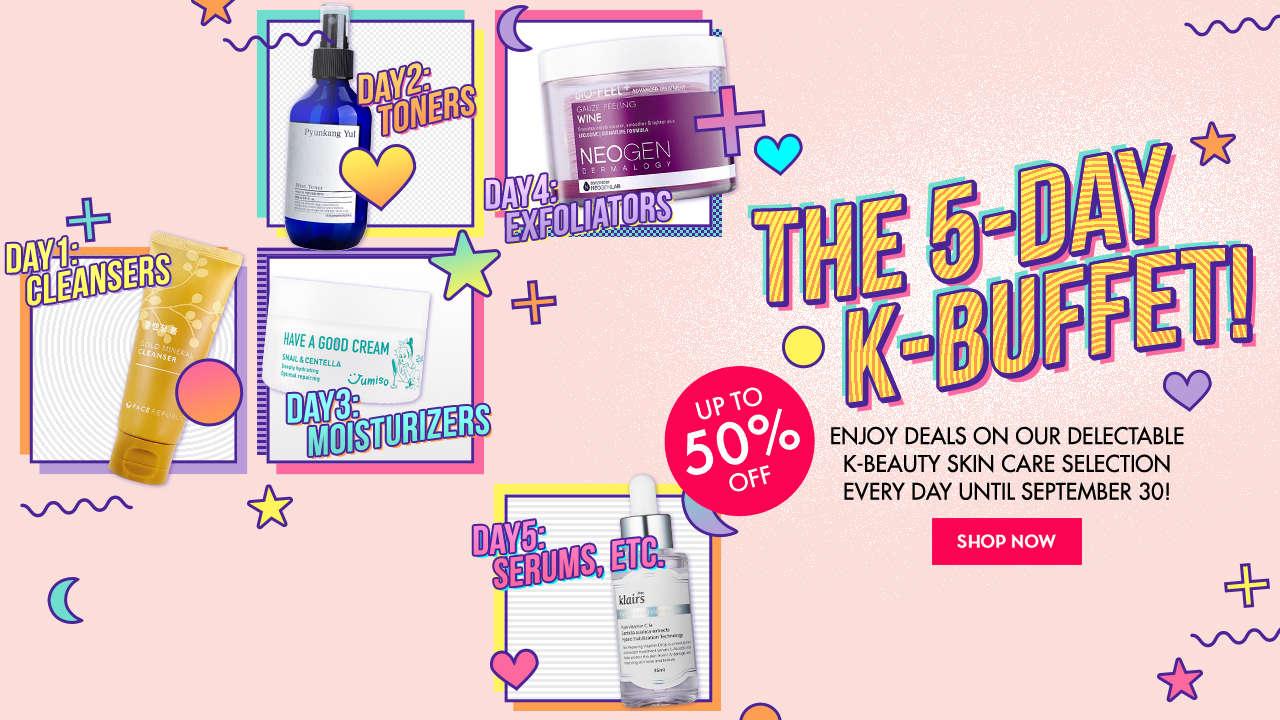 K-Beauty Buffet Day 5