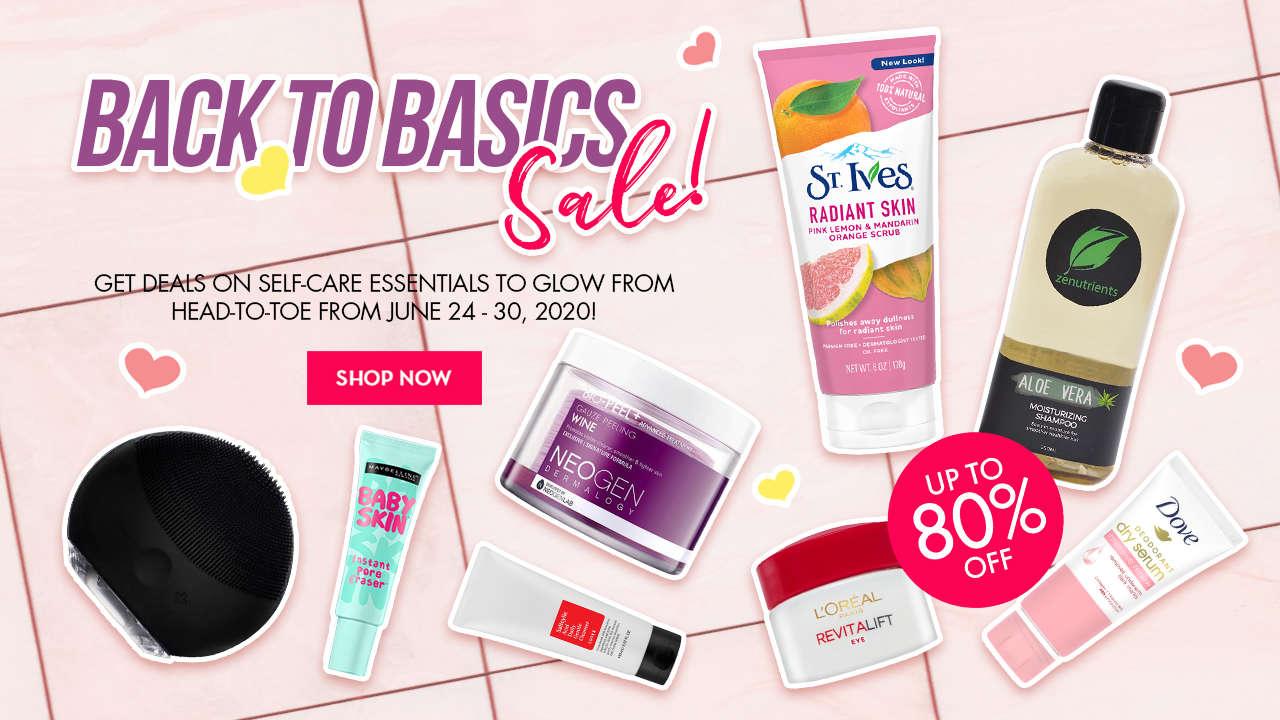 Back-to-Basics Sale